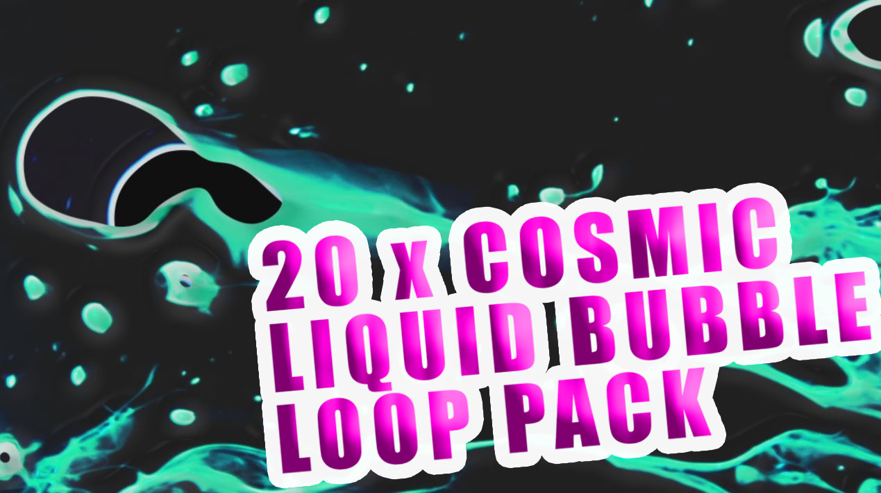 thevaia cosmic bubble vj loop pack vj loop bundle