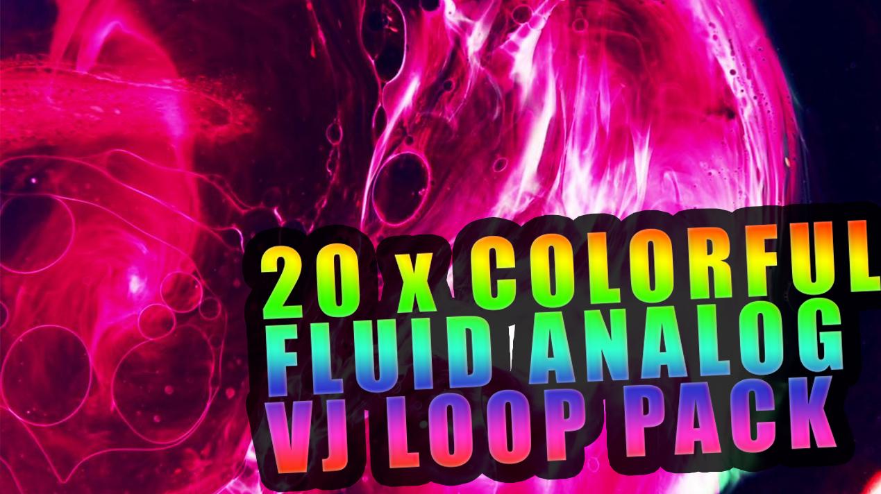theVAIA COLORFLOW - fluid analog VJ LOOPS vaia