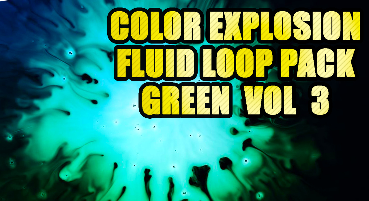 GREEN POISON LOOP PACK - VJ LOOPS theVAIA